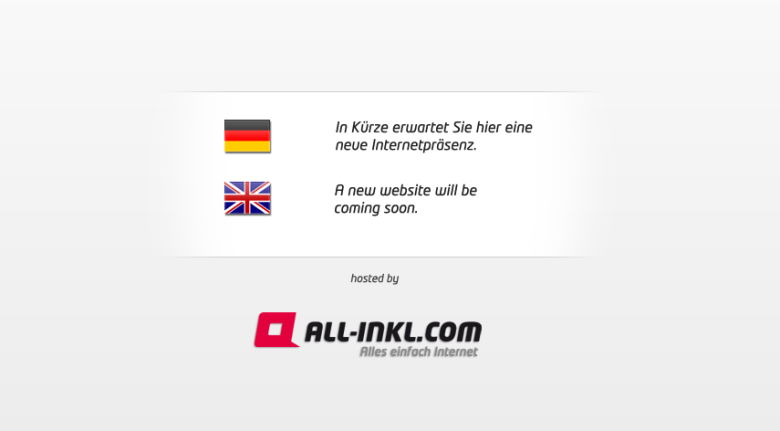Neue Domain bei All-Inkl registriert